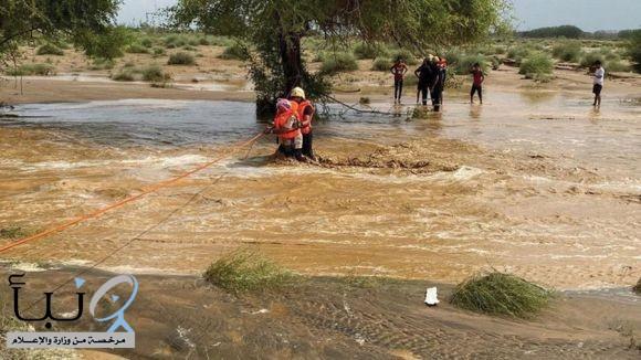 الأمطار تكشف  مشاريع درء أخطار السيول وتصريف مياه الأمطار في  #جازان