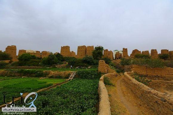 البلدة القديمة في ظهران الجنوب تصوير المبدع حسين العسكر
