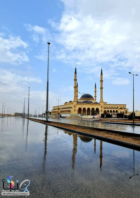 #الخرج و المطر تصوير الأستاذ سعود الخريف