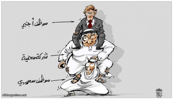 واقع الموظف السعودي بالقطاع الخاص