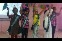 الثانوية الثالثة بالخرج (نظام مقررات ) تقيم احتفالاً للأطفال الأيتام