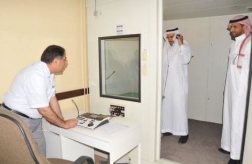 د.الجليفي يتفقد مبنى مركز الخرج للتربية الخاصة