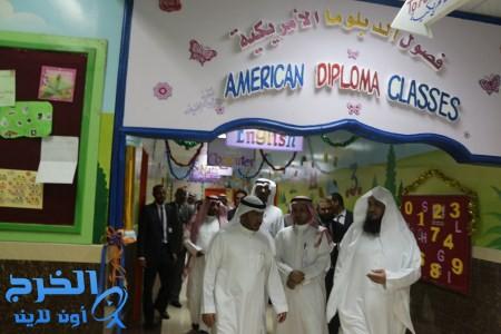 افتتاح  قسم الدبلوما الأمريكية بمدارس الجامعة الأهلية