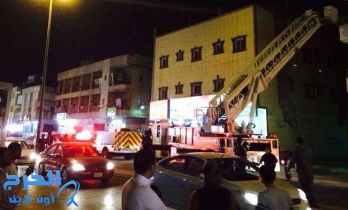 وفاة 4 أطفال في حريق عمارة سكنية بالرياض