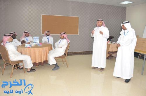 د.العبدالجبار يدشن برنامج ( ممارس القيادة المدرسية ) بمقر شركة الجامعة