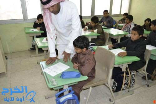 اليوم   (32654)ألف طالب وطالبة يؤدون إختبارتهم بمدارس تعليم الخرج