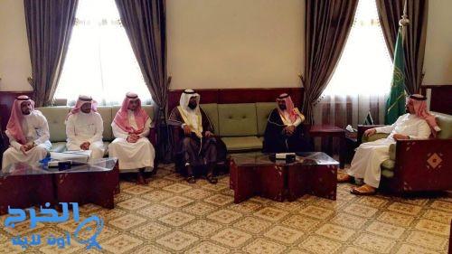 محافظ الخرج يستقبل مجلس هيئة المهندسين السعودية بمحافظة الخرج