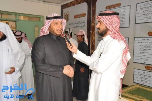 مدير تعليم الخرج يدشن ملتقى الأمن الفكري بثانوية الملك فهد