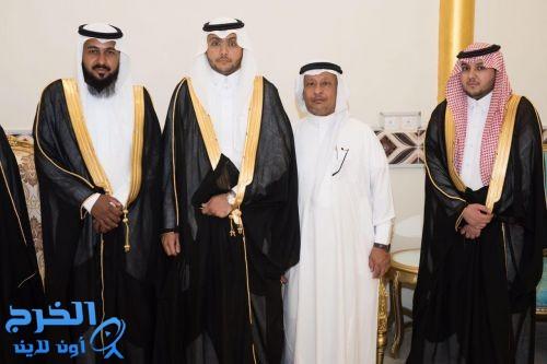 الشيخ  العثمان  بزواج ابنه الشاب نايف