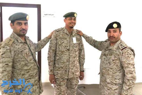 ترقية الرائد صالح بن سعد بن حسين لرتبة مقدم