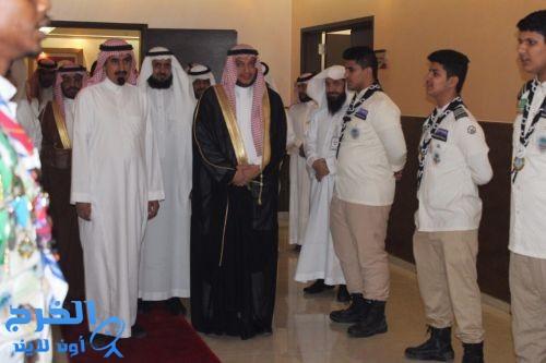 ثانوية الجامعة تخرّج الدفعة السابعة من طلابها بحضور معالي الدكتور عبدالله العثمان و مدبر التعليم