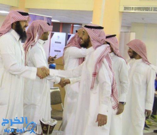 نادي ابن عباس الموسمي بمحافظة الدلم  يقيم حفلَ معايدة