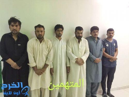 ضبط باكستانيين يسلبون ذهباً بقيمة 5 ملايين وشرطة الرياض تُطيح بهم