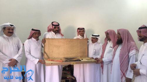 تكريم الزميل سعود المضياني