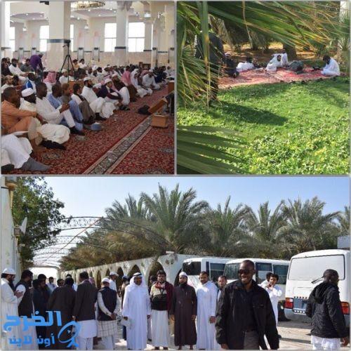 ١٢٠ طالباً من طلاب المنح بـجامعة الملك سعود يزورون الدلم