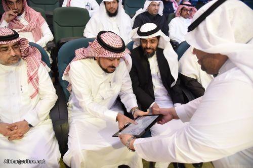 بحضور رجال المال والأعمال مدير جامعة الأمير سطّام بن عبد العزيز يدشن مبادرة ريادة الأعمال (رواد)