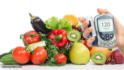 دراسة: النظام الغذائى النباتى يخفض مخاطر الإصابة بالسكر