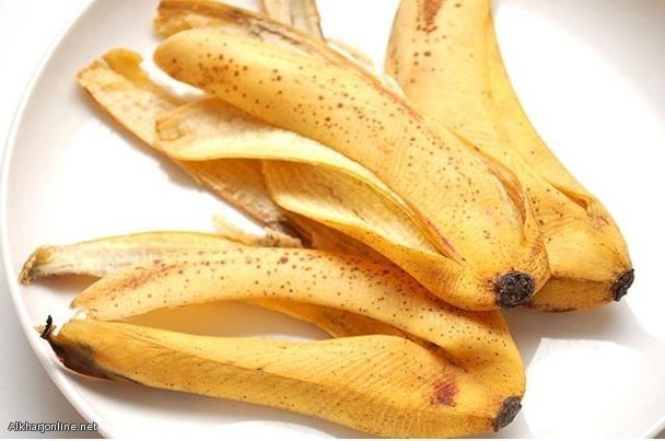 إليك قشر الموز يحرق الدهون بشكل سحري