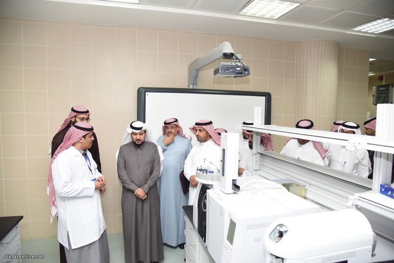 افتتاح المختبر المركزي بجامعة الأمير سطام بالخرج