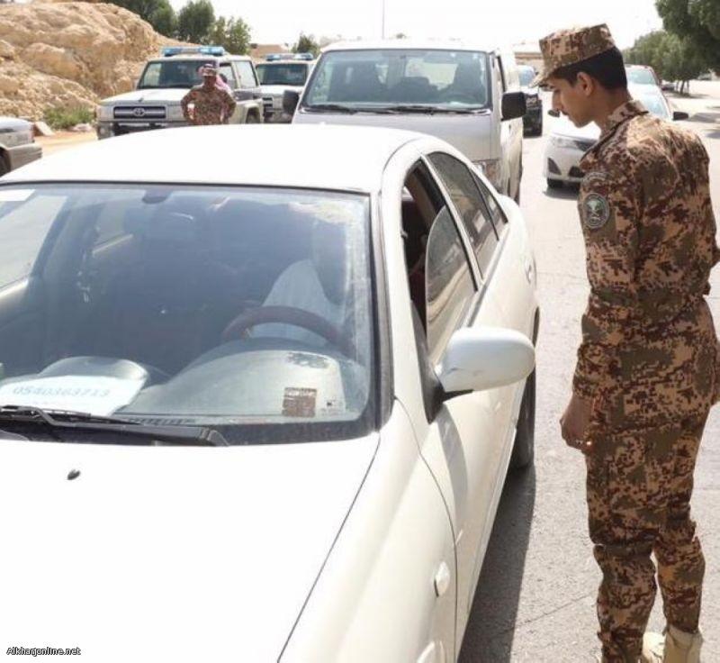 إدارة المجاهدين تضبط 72 مهربا و2142 متسلل و1259 متهم