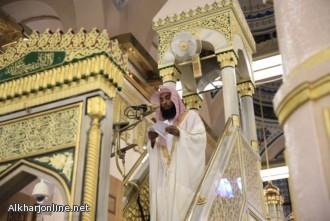 إمام المسجد النبوي يحذر من التساهل والتهاون في الصلاة