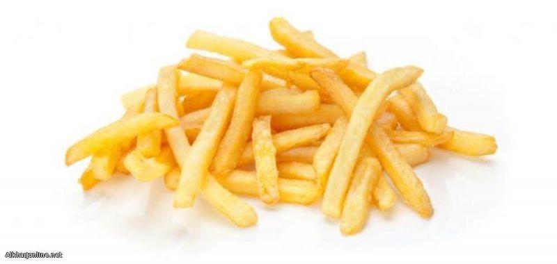 احذر.. «البطاطس المقلية» تحوي مواد تنشّط السرطان