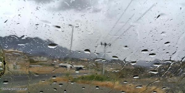 الحقيل : بتوقع هطول أمطار على عدة مناطق من الجمعة إلى الاثنين المقبل.