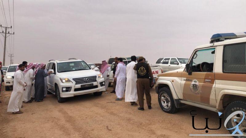 الجهات الأمنية بمحافظة #الخرج  تعثر  على المواطن المفقود