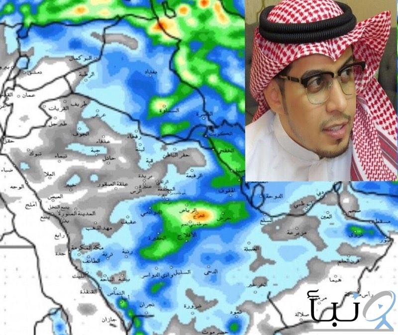 """""""الجهني"""": أمطار غزيرة على عدد من مناطق"""