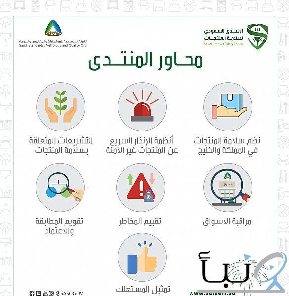 31 ورقة عمل متخصصة ضمن فعاليات المنتدى السعودي لسلامة المنتجات