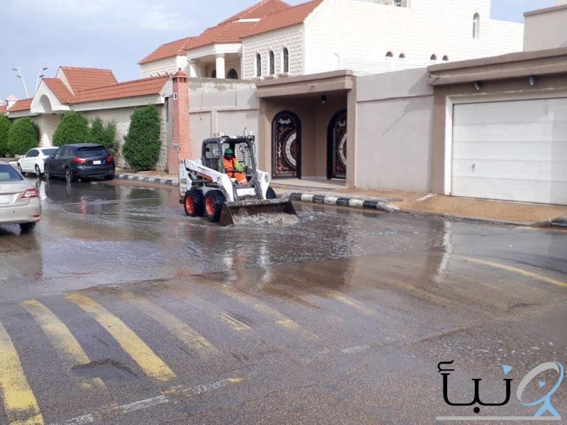 بلدية الخرج تكثف جهودها مع الحالة المطرية المتوقعة خلال هذه الايام