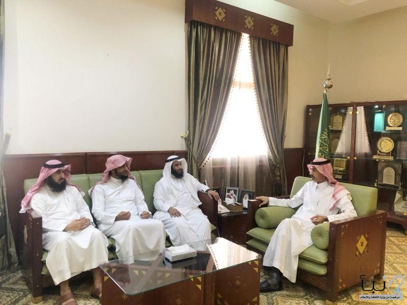 \ محافظ #الخرج يستقبل رئيس جمعية همم شبابية