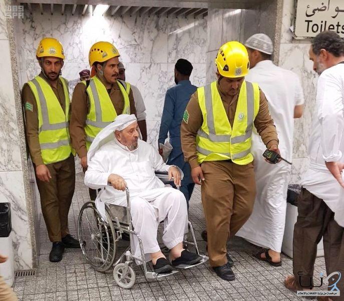 مدني #المدينة_المنورةينفذ خطة رمضان لخدمة زوار المسجد النبوي