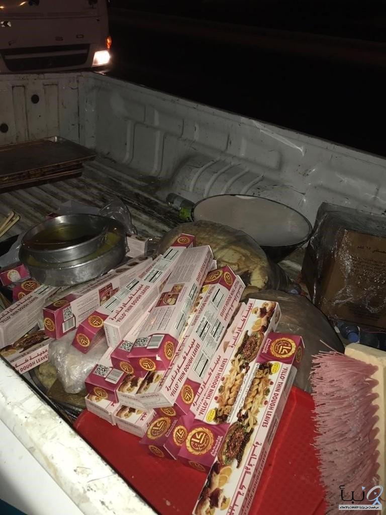 #أمانة جدة تغلق مصنع حلويات بذهبان وتتلف 145 كيلو جرامًا مواد أولية