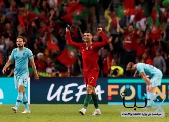 البرتغال تتوج بأول نسخة لدوري الأمم الأوروبية