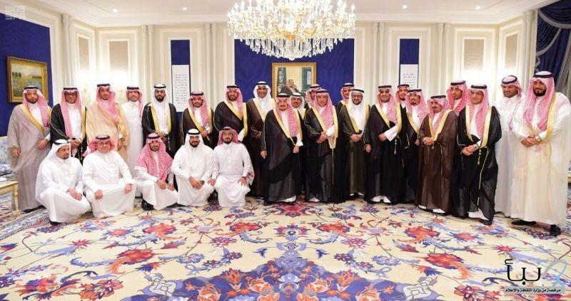 سمو أمير منطقة الرياض يستقبل الجهات المشاركة في احتفالات موسم العيد