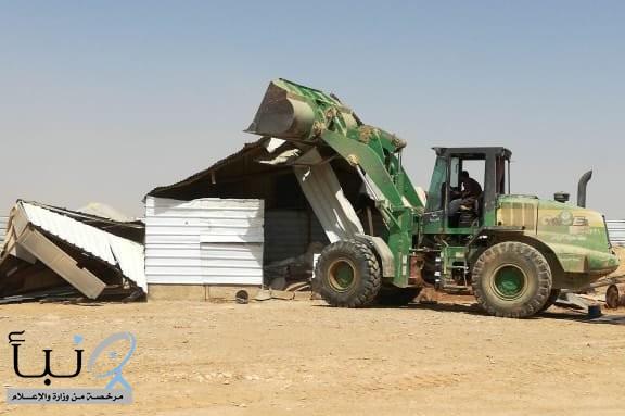 أمانة الرياض تواصل حملاتها لإزالة مظاهر التلوث البصري