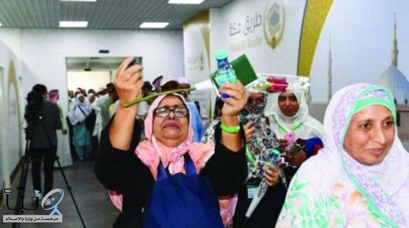 وصول 36744 حاجًا وحاجة إلى المملكة ضمن مبادرة طريق مكة