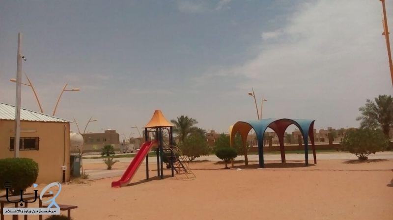 بلدية محافظة الخرج تشرع في تركيب الكاميرات بالحدائق العامة بالمحافظة