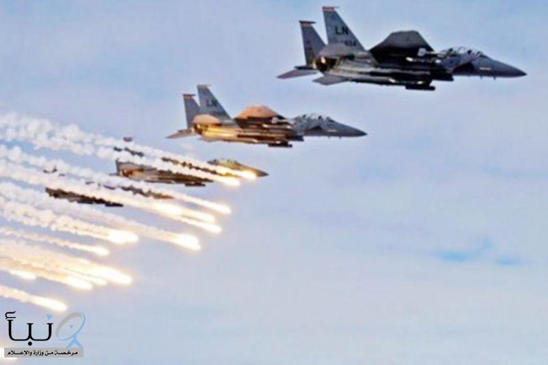 التحالف يدمر مواقع دفاع جوي وتخزين صواريخ حوثية في صنعاء