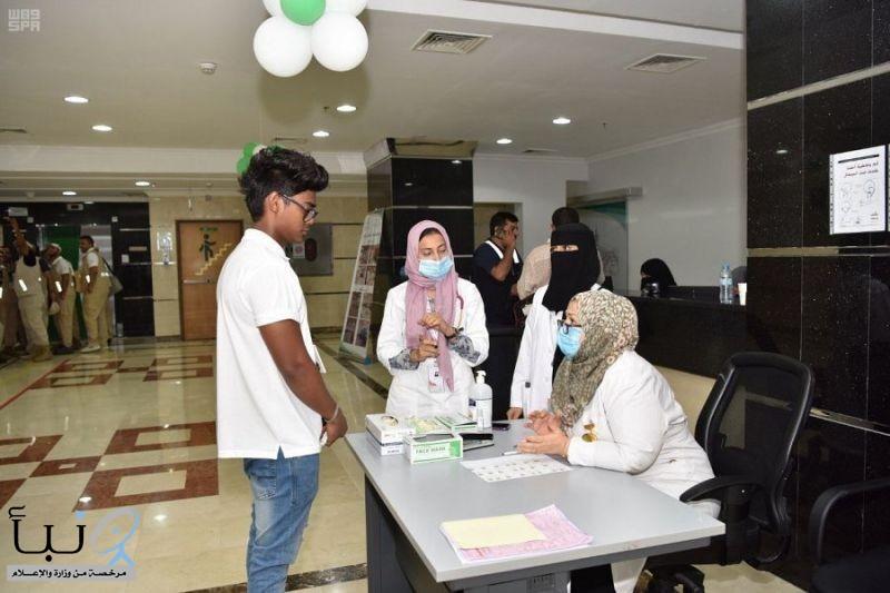 وزارة الصحة تنجح في مبادرة عالمية بتطبيق بطاقة الفرز بالحج