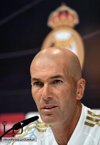 زيدان: مدريد بات جاهزاً للمباريات الرسمية وبيل أحد أهم لاعبي الفريق