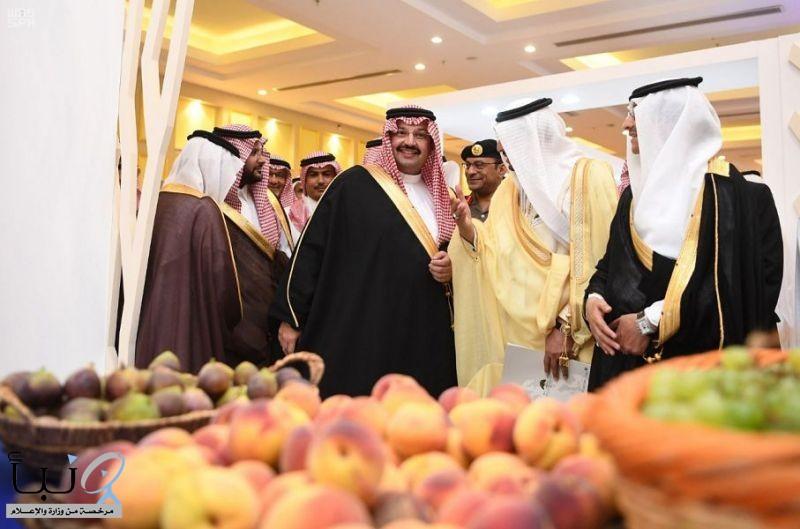 """سمو الأمير تركي بن طلال يرعى """"المؤتمر الدولي الأول للبيئات الجبلية شبه الجافة"""" في عسير"""