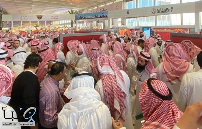 أكثر من 132 ألف زائر خلال أول يومين لمعرض الصقور والصيد السعودي بنسخته الثانية