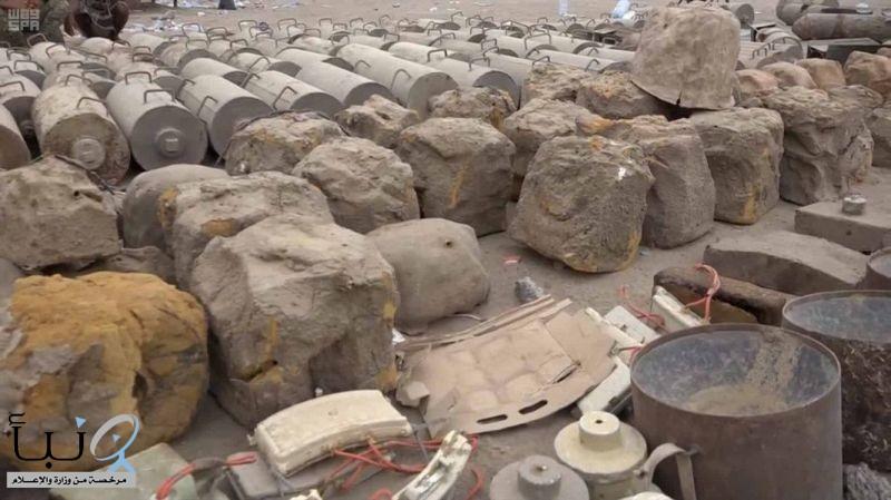 """""""مسام"""" ينتزع 2,209 ألغام في اليمن خلال أسبوع"""