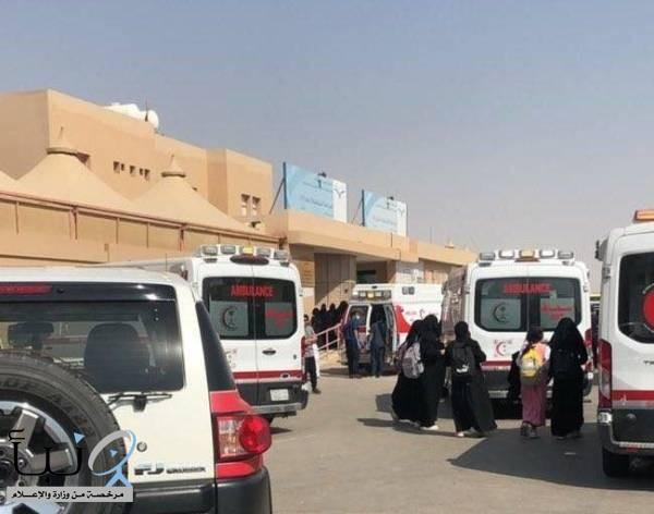 إنذار الحريق «خاطئ»«الهلال الأحمر»: يتسبب في مباشرة  13 حالة في مدرسة بنات شرق الرياض