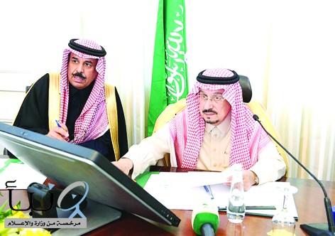 أمير منطقة الرياض يدشن مشروعات القويعية