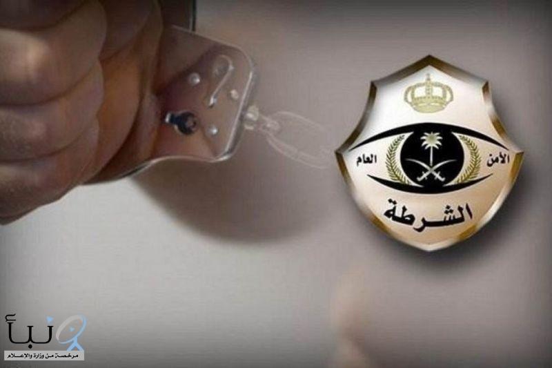 #ضبط مواطن تعمد صدم دورية أمن