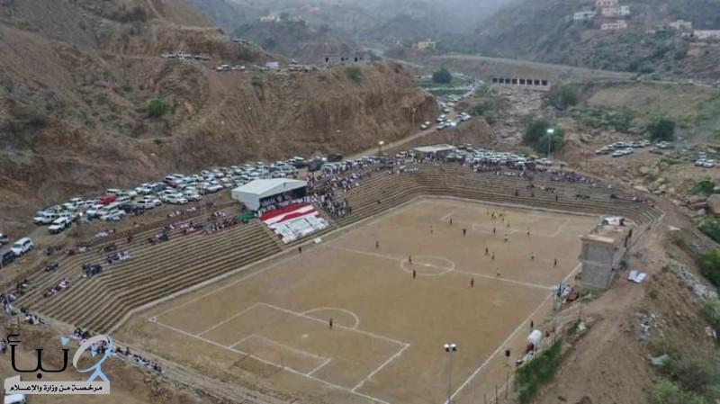 الاتحاد الآسيوي: ملعب جازان المنحوت في الصخر من أفضل الملاعب الخلابة في القارة