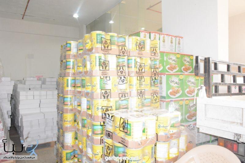 جمعية البر بمحافظة #الطوال توزع أكثر من ٤٠٠ سلة غذائية